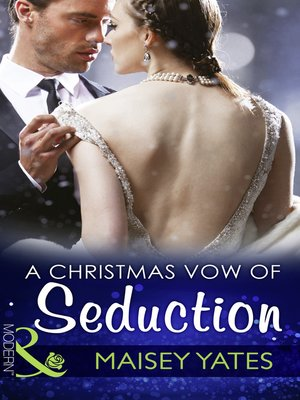 cover image of A Christmas Vow of Seduction
